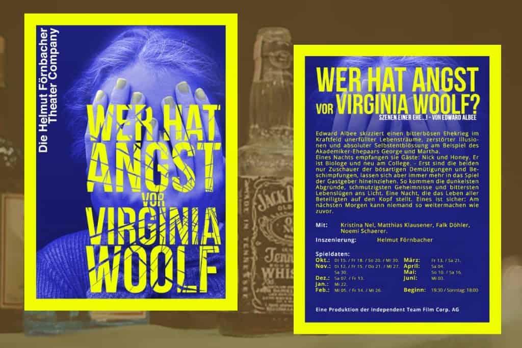 Virginia Woolf Beitragsbild - Matthias Klausener - Schaupiel und Theater